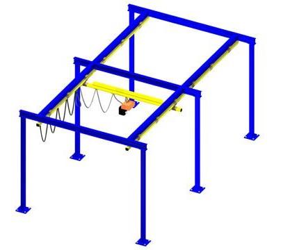 Lightweight Overhead Cranes